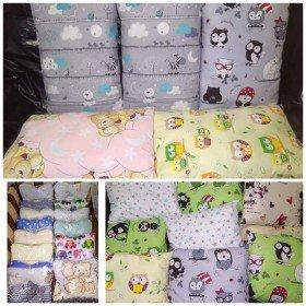 Детские подушки и наволочки
