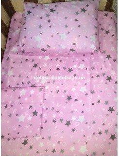 Детское постельное бельё (простынь на резинке)