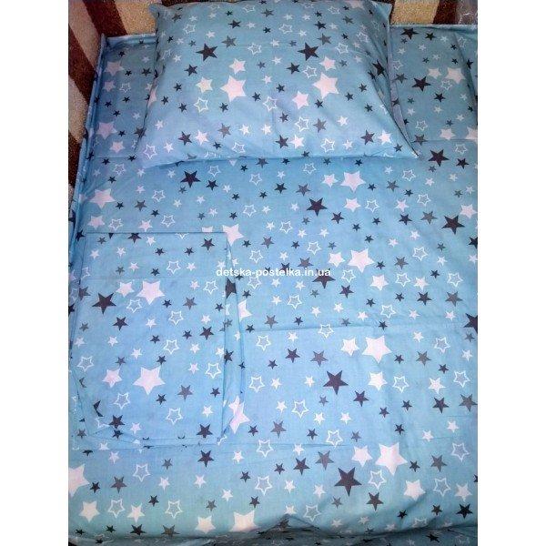 Сменная постель в кроватку 3 элемента